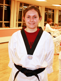 Grace Jeffers, 1st Dan Black Belt