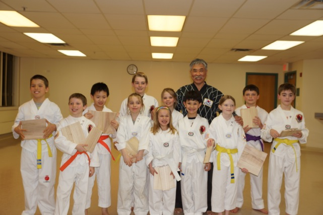 Young Tigers Taekwondo, March 20, 2013